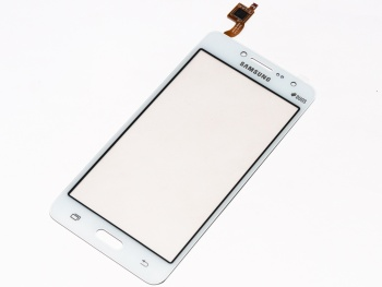 Тач скрин (touch screen) Samsung G532 white