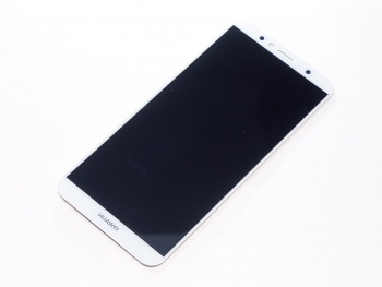 Дисплей (LCD) Huawei Honor 7A Pro/Honor 7C/(AUM-L41)/Y6 Prime (2018)/Y6 (2018)/(ATU-L31) + Touch (модуль) white